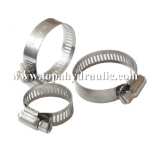 Manufactur standard for Hose Clip stainless steel hydraulic pipe American hose clamp supply to Libya Supplier