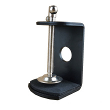 matt black monitor mount clamp
