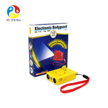 J-1003 Pet Ultra-sônica Agressivo Cão Repelente Repelente cão bark controle (azul / vermelho / amarelo)