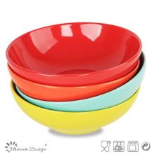 Plato de sopa de colores sólidos baratos