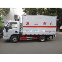 YUEJIN 4x2 Dangerous goods carrier truck