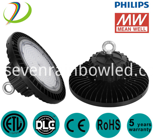 150W Industrial Lumileds High Bay Led Lighting