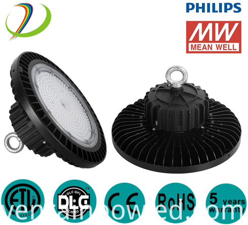 200W SAA High Bay Led Light Fixtures