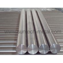 Barres rondes de haute pureté titane