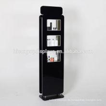 Freie Entwurfs-Großhandelswerbung kundenspezifische Fußboden-Standplatz-Acrylkosmetik-Anzeigen-Maßeinheit