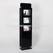 Free Design Venta al por mayor Publicidad Custom Floor Stand acrílico Cosméticos Display Unit