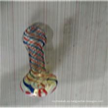 Venta al por mayor Tubos de cuchara Rainbow para fumar (ES-HP-159)