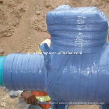 Visco elastisches Antikorrosionsrohr-Verpackungsband, das für unterirdische Rohrleitung verwendet