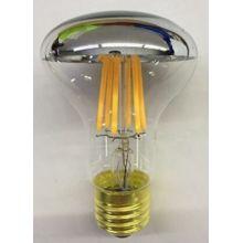 Светодиодная лампа R60 с серебристой верхней крышкой