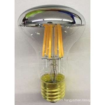 3.5W 5.5W 6.5W R63 Reflect Bulb LED Bulb with Silvery Mirror Top