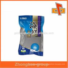 Bolsa de plástico de vacío de alimentos para el envasado de mariscos secos con logotipo personalizado