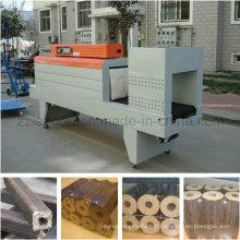 Machine d'emballage thermique rétractable pour les briquettes d'emballage