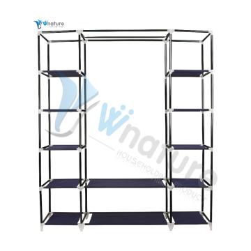 tela plegable armario, armario portátil para dormitorio, armario canvan