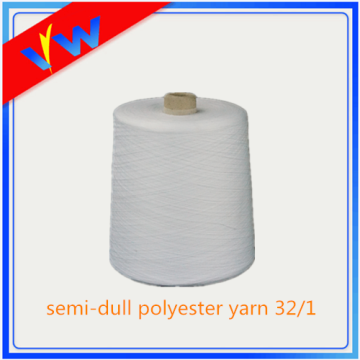 wholesale semi-dull spun polyester sewing yarn