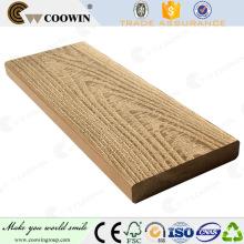 Landscape rubber wood plastic timber