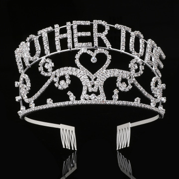 2.9''Full Round Crown Combs For Mother's Day