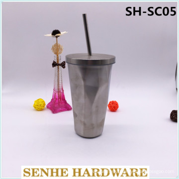 450ml Stainless Steel Straw Cup (SH-SC05)