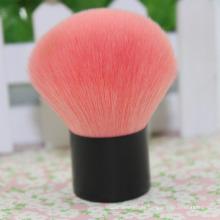 Single Aluminum Tube Pink Nylon Hair Brush Blush Brush Powder Brush