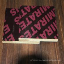 15mm  polar finger joint core black film faced plywood sheet