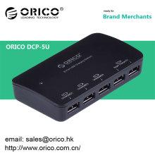 ORICO DCP-5U escritorio cargador usb 5 puertos para Ipad Iphone con adaptador de corriente