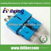FC femelle à SC male uplex fiber adapter