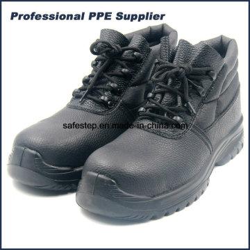 High Cut Composit Toe Insulation Sapatos de segurança com fivelas de plástico