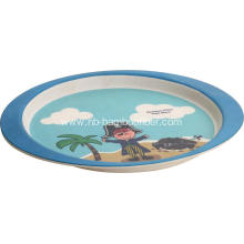 Children's bamboo fiber cartoon dishes
