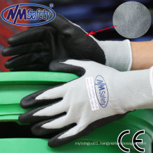Nmsafety Palm Coated Foam Nitrile Safety Gloves