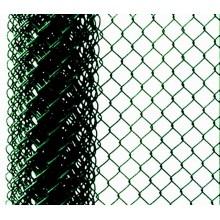 PVC Coated Iron Wire Mesh Chain Link Fence for Playground