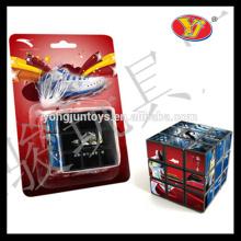 2016 la caja de color de encargo diseñada más nueva del cubo mágico de la venta y el empaquetar para la promoción