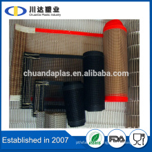 High temperature Teflon coated mesh conveyor belt PTFE Dryer Belts