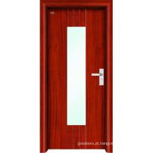 Porta de madeira interior (LTS-204)