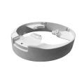 Caixa de junção do metal para acessórios grandes do suporte das câmeras do CCTV da abóbada do globo ocular