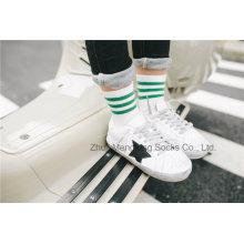 Litttle Girl Модные хлопчатобумажные носки Stripes Designs