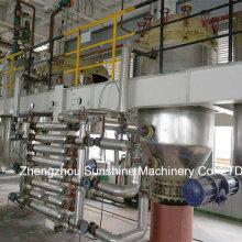 20t / D Refinaria de óleo de semente de algodão Máquinas de refinação de óleo de semente de algodão