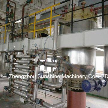 20t / D refinería de aceite de semilla de algodón refinería de aceite de semilla de algodón
