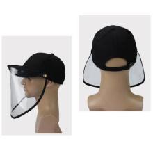 Защитная маска для лица с защитной крышкой для предотвращения капель