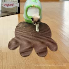 Non Slip Litter Mat Bloqueio Descartável Mat Cat Cat Trapping Mat PVC Espumou Pet Bacia Mat