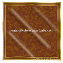 2014 nouveau design 100 satins islamiques en soie pure