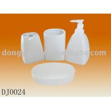 logotipo personalizado accesorios de baño de cerámica conjuntos, accesorios de baño conjuntos de cerámica