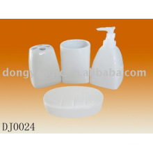 customized logo ceramic bathroom accessories sets , bathroom accessory sets ceramic