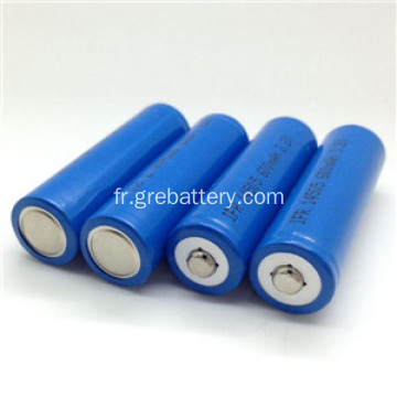3, 2V 14500 AA LiFePO4 batterie Rechargeable