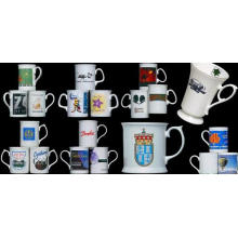 Fine Bone China Tazas de café, jarras High Quality Ceramic Tazas