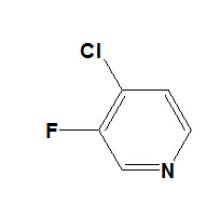 4-Cloro-3-Fluoropiridina N ° CAS 2546-56-7