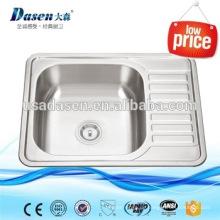 DS6550 Schamotte Frontschürze Küche sinkt Edelstahl Gewicht
