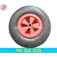 roda de borracha inflável forte 13x4.00-6