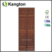 Portas duplas principais interiores Portas de madeira (porta de madeira)