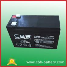 Bateria de veículo elétrico 12V 7ah 6-Dzm-7 de bom preço