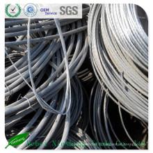 Scraps de fil d'aluminium pour l'exportation