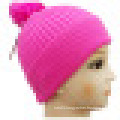 Knitted Beanie with POM POM NTD39